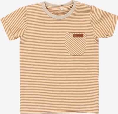 NAME IT Shirt 'FIPAN' in beige / goldgelb, Produktansicht