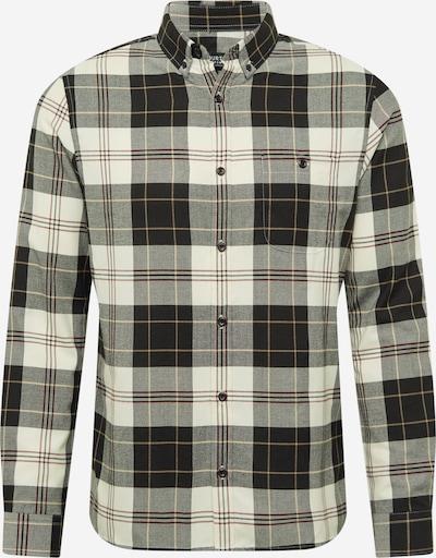 BURTON MENSWEAR LONDON Camisa en marrón claro / rojo oscuro / negro / blanco, Vista del producto