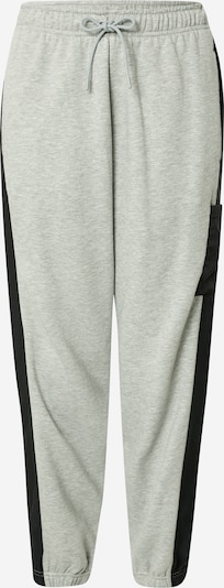 Nike Sportswear Broek in de kleur Grijs gemêleerd / Zwart, Productweergave