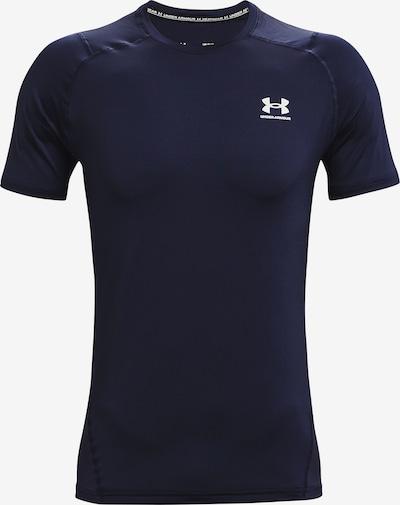 UNDER ARMOUR Functioneel shirt 'HeatGear' in de kleur Blauw, Productweergave