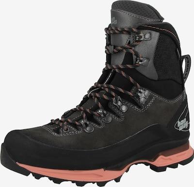 HANWAG Boots 'Alverstone' en gris foncé / rose, Vue avec produit