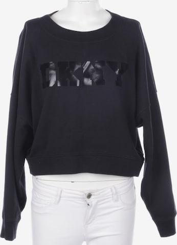 DKNY Sweatshirt & Zip-Up Hoodie in S in Black