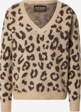 MOS MOSH Пуловер 'Soffia' в бежово