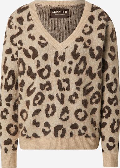 MOS MOSH Pullover 'Soffia' in beige / beigemeliert / braun, Produktansicht