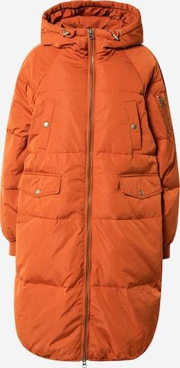 ICHI Mantel in rostbraun, Produktansicht