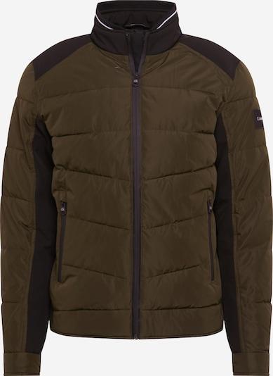 Calvin Klein Prechodná bunda - tmavomodrá / zelená, Produkt