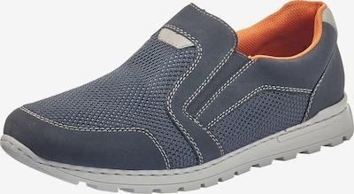 RIEKER Slip On in taubenblau / grau, Produktansicht