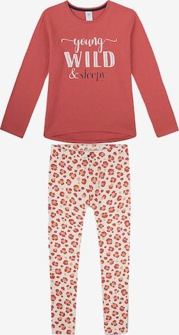 SANETTA Schlafanzug in Rot