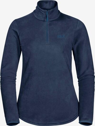 JACK WOLFSKIN Sportpullover in dunkelblau, Produktansicht