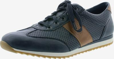 kék / konyak RIEKER Fűzős cipő, Termék nézet