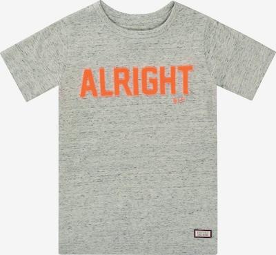 BASEFIELD Shirt in hellgrau / orange, Produktansicht