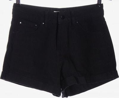 24COLOURS Jeansshorts in S in schwarz, Produktansicht