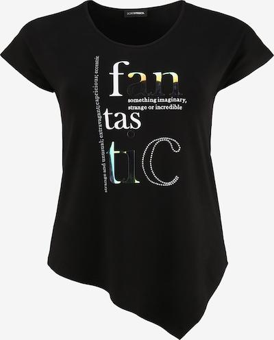 Doris Streich Shirt mit asymmetrischem Saum in schwarz, Produktansicht