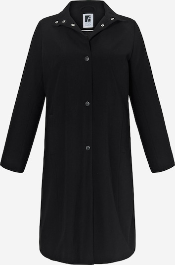 Anna Aura Sommer-Mantel in A-Form in schwarz, Produktansicht