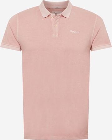 Tricou de la Pepe Jeans pe roz