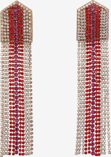 arany / lila / piros MANGO Fülbevalók 'BLONDIE', Termék nézet