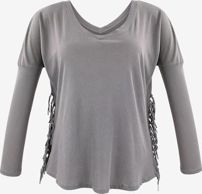trueprodigy Shirt 'Becca' in rauchgrau, Produktansicht