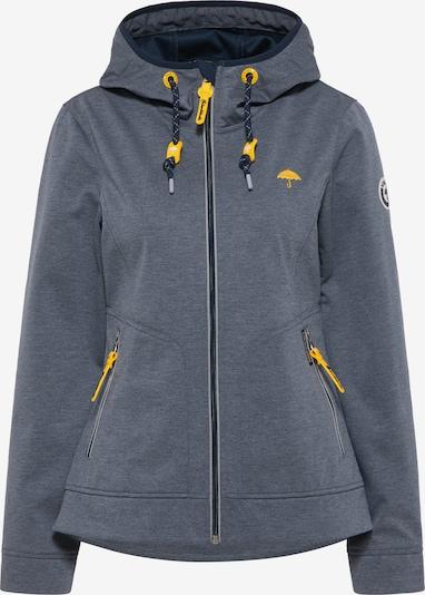 Schmuddelwedda Performance Jacket in marine blue / Yellow, Item view