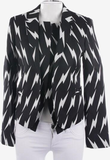 Neil Barrett Blazer in XS in schwarz / weiß, Produktansicht