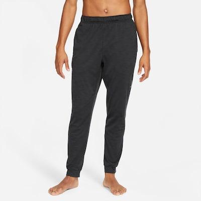 Sportinės kelnės iš NIKE, spalva – tamsiai pilka, Modelio vaizdas