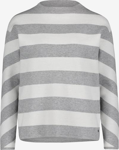 Betty & Co Pullover in graumeliert / weiß, Produktansicht
