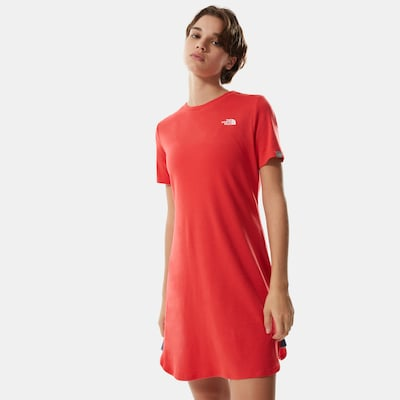 THE NORTH FACE Kleid 'SIMPLE DOME' in hellpink, Modelansicht