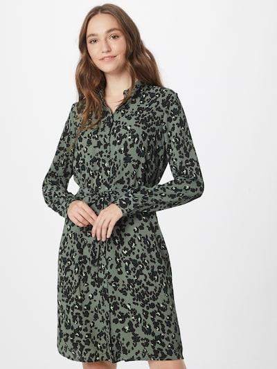 VERO MODA Kleid 'SAGA' in smaragd / hellgrün / schwarz, Modelansicht
