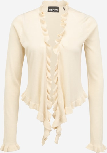 Pieces Tall Πλεκτή ζακέτα 'TINLEY' σε φυσικό λευκό, Άποψη προϊόντος