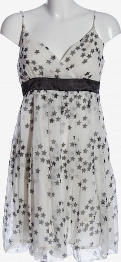 MOGUL Trägerkleid in L in schwarz / weiß / wollweiß, Produktansicht
