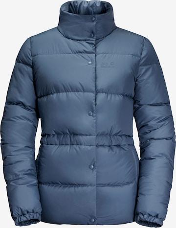 JACK WOLFSKIN Winter Jacket 'FROZEN LAK' in Blue