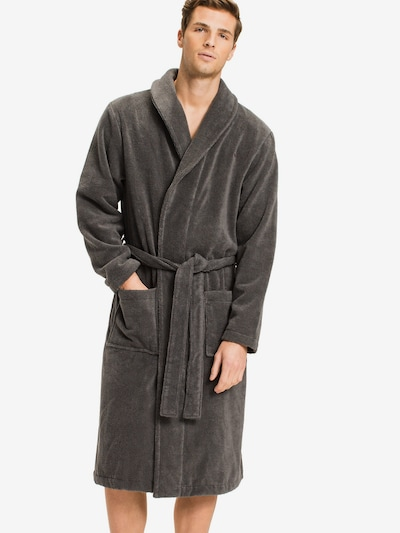 Tommy Hilfiger Underwear Bademantel 'Icon bathrobe' in grau, Modelansicht