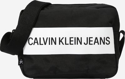 Calvin Klein Jeans Чанта за през рамо тип преметка в черно / бяло, Преглед на продукта