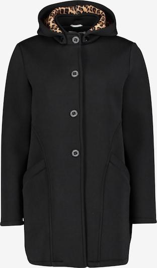 Amber & June Übergangsjacke mit abnehmbarer Kapuze in schwarz, Produktansicht