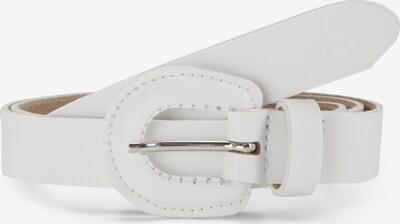 TOM TAILOR Schmaler Gürtel in weiß, Produktansicht