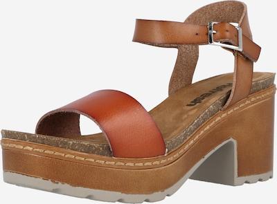 Refresh Sandale in braun, Produktansicht