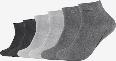 camano Kurzsocken in grau, Produktansicht