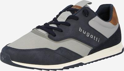 sötétkék / barna / szürke bugatti Rövid szárú edzőcipők, Termék nézet