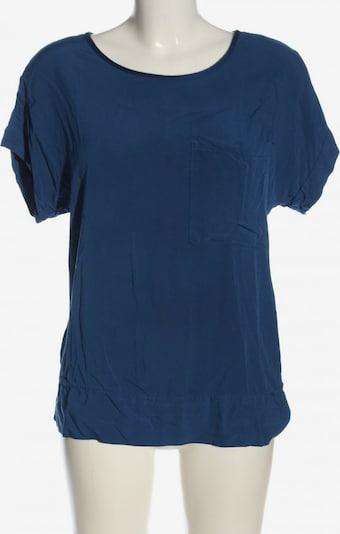 Dixie Kurzarm-Bluse in S in blau, Produktansicht