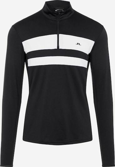 J.Lindeberg Pullover in schwarz / weiß, Produktansicht