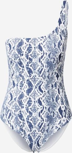 ETAM Badeanzug 'HEATHER' in blau / weiß, Produktansicht
