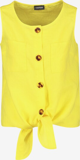 TAIFUN Bluse in gelb, Produktansicht
