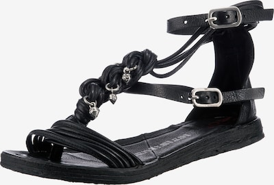 A.S.98 Sandals in Black, Item view