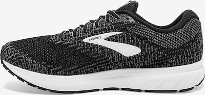 BROOKS Laufschuh 'Revel' in schwarz / weiß, Produktansicht