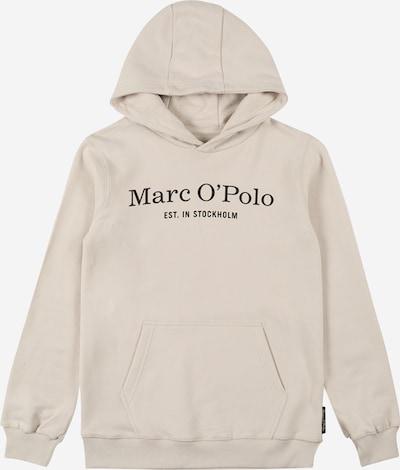 Marc O'Polo Junior Sweatshirt in schwarz / naturweiß, Produktansicht