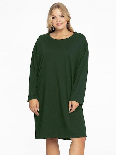 Yoek Tunic in Dark green, View model