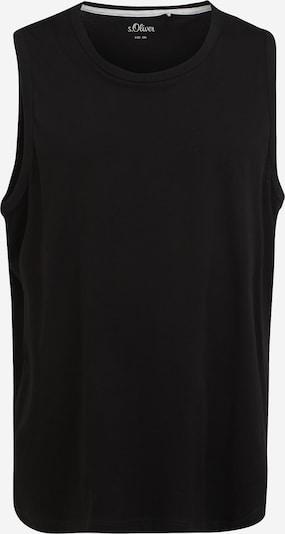 s.Oliver Red Label Big & Tall Shirt in schwarz, Produktansicht