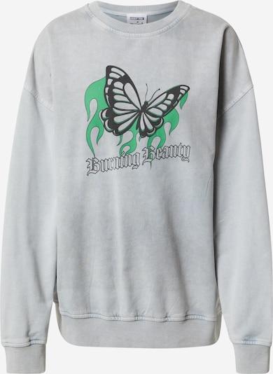 ABOUT YOU x Sharlota Sweatshirt 'Franca' i ljusgrå, Produktvy