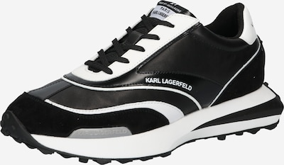 Sneaker low 'ZONE' Karl Lagerfeld pe negru / alb, Vizualizare produs