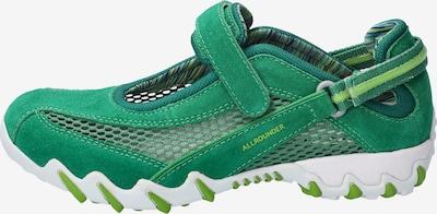 Allrounder Sneaker in grün, Produktansicht