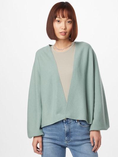 DRYKORN Gebreid vest 'MANUI' in de kleur Mintgroen, Modelweergave